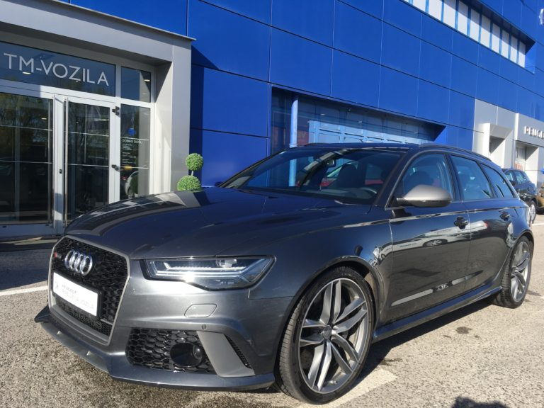 AUDI RS 6 AVANT -PERFORMANCE 605KS –