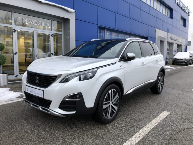 PEUGEOT 5008 GT 2,0 BLUEHDI 180  EAT8-AUTOMATIC