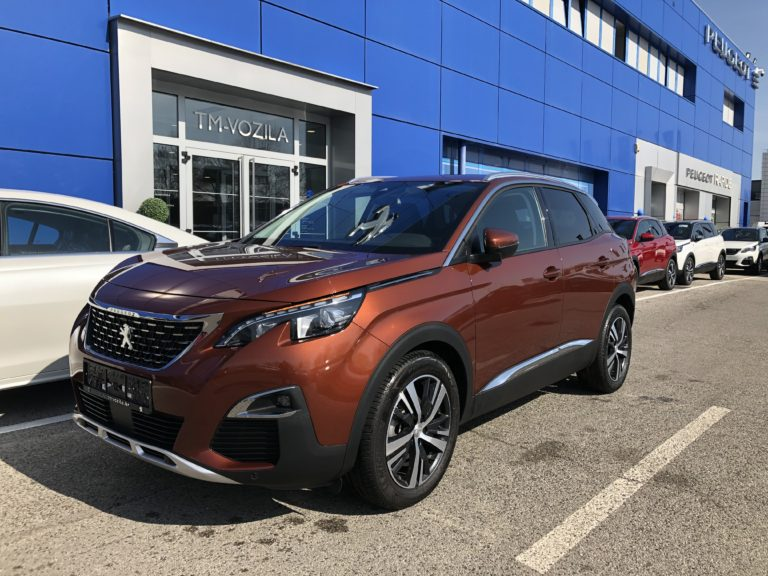 PEUGEOT 3008 ALLURE 1,6 BLUEHDI 120 EAT6- AUTOMATC