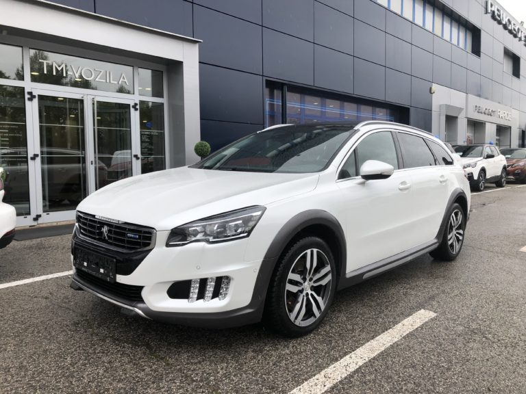 PEUGEOT 508 RXH 2,0 BLUEHDI 180 EAT6- AUTOMATIC