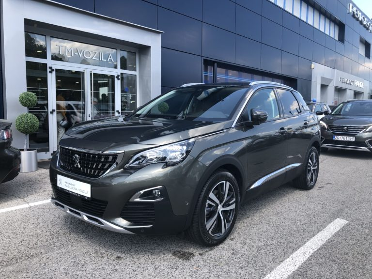 PEUGEOT 3008 ALLURE 1,5 BLUEHDI 130 EAT8- AUTOMATIC