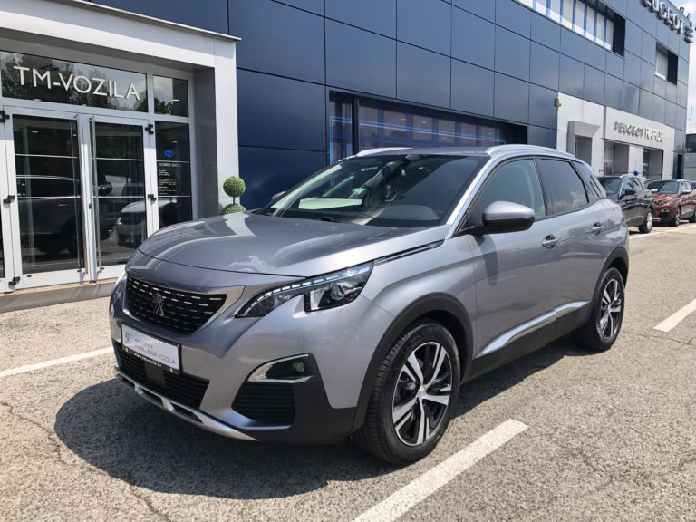 PEUGEOT 3008 ALLURE 1,6 BLUEHDI 120 EAT6-AUTOMATIC