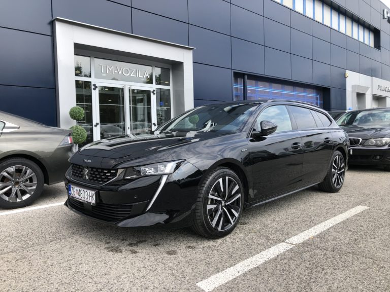 PEUGEOT 508 NOVI SW GT 2,0 BLUEHDI 180 EAT8-AUTOMATIC