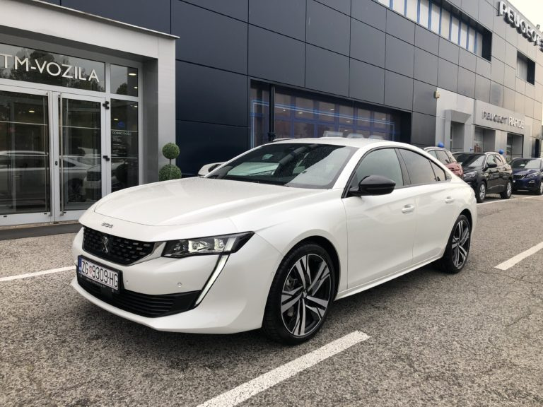 PEUGEOT 508 GT 2,0 BLUEHDI 180 EAT 8- AUTOMATIC
