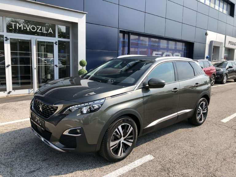 PEUGEOT 3008 ALLURE 1,5 BLUEHDI 130 EAT8-AUTOMATIC