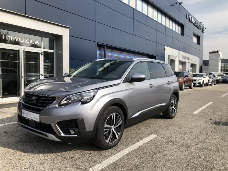 PEUGEOT 5008 ALLURE 1,5 BLUEHDI 130 EAT8- AUTOMATIC